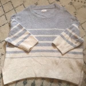 Lou and Grey Poncho Sweater